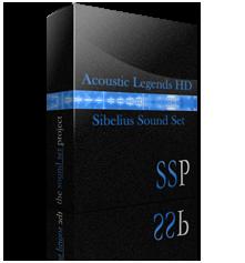 Acoustic Legends HD Sibelius Sound Set product image