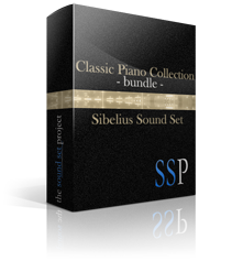 Classic Piano Collection Bundle Sibelius Sound Set product image