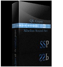 QL Gypsy Sibelius Sound Set v2 product image