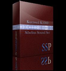 K1000 Sibelius Sound Set product image