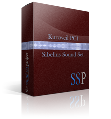 PC1 Sibelius Sound Set product image