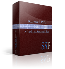 PC3 Sibelius Sound Set product image