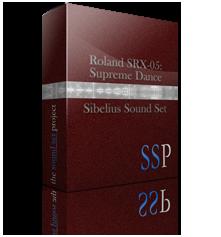SRX-05: Supreme Dance Sibelius Sound Set product image