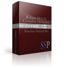 SRX-06: Complete Orchestra Sibelius Sound Set product image