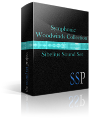 Symphonic Woodwinds Sibelius Sound Set product image